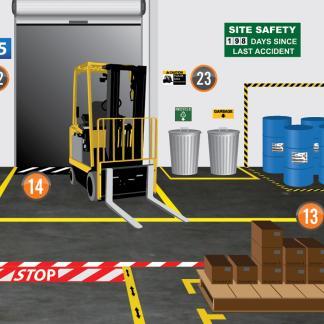 Trake za profesionalno označavanje podova