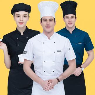 Kuharske bluze muške crne i bijele